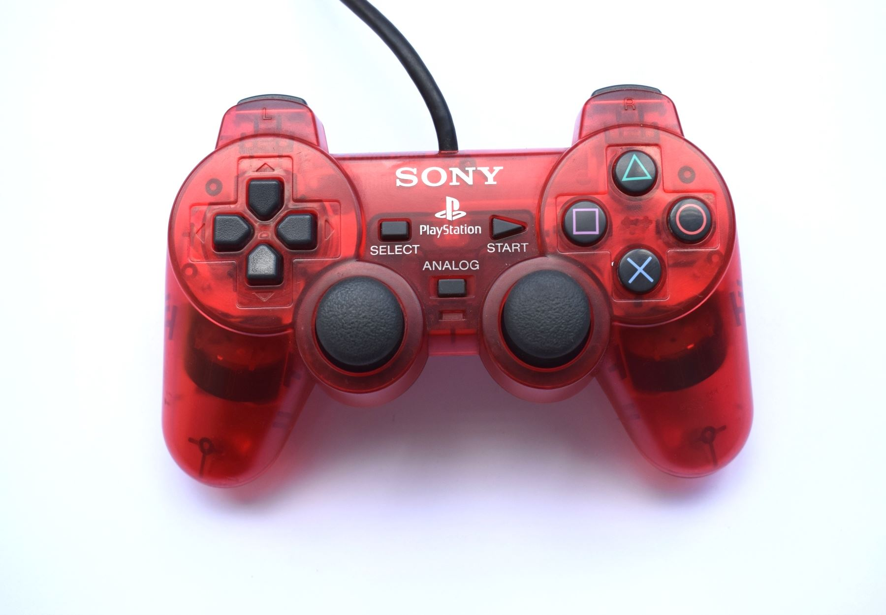 Original-Official-Sony-Dual-Shock-2-PS2-Wired-Controller-Pad-Multiple-Colours thumbnail 17