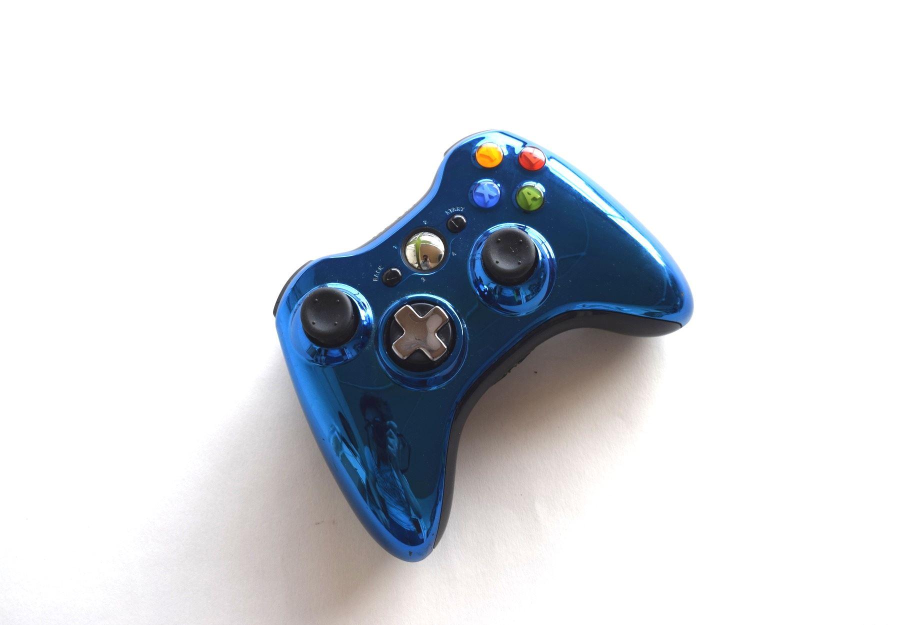 Official-Original-Genuine-Microsoft-Xbox-360-Controller-Pads-Various-Colours thumbnail 19