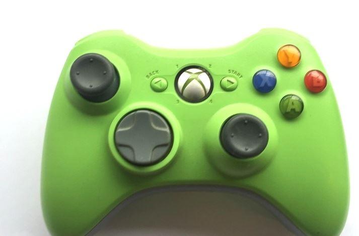 Official-Original-Genuine-Microsoft-Xbox-360-Controller-Pads-Various-Colours thumbnail 45
