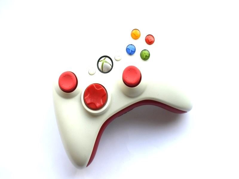 Official-Original-Genuine-Microsoft-Xbox-360-Controller-Pads-Various-Colours thumbnail 58