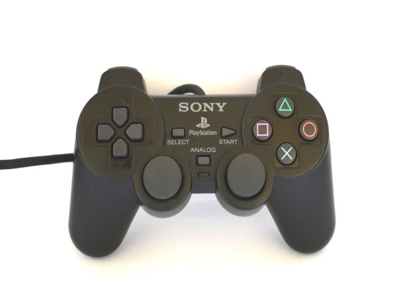 Original-Official-Sony-Dual-Shock-2-PS2-Wired-Controller-Pad-Multiple-Colours thumbnail 4