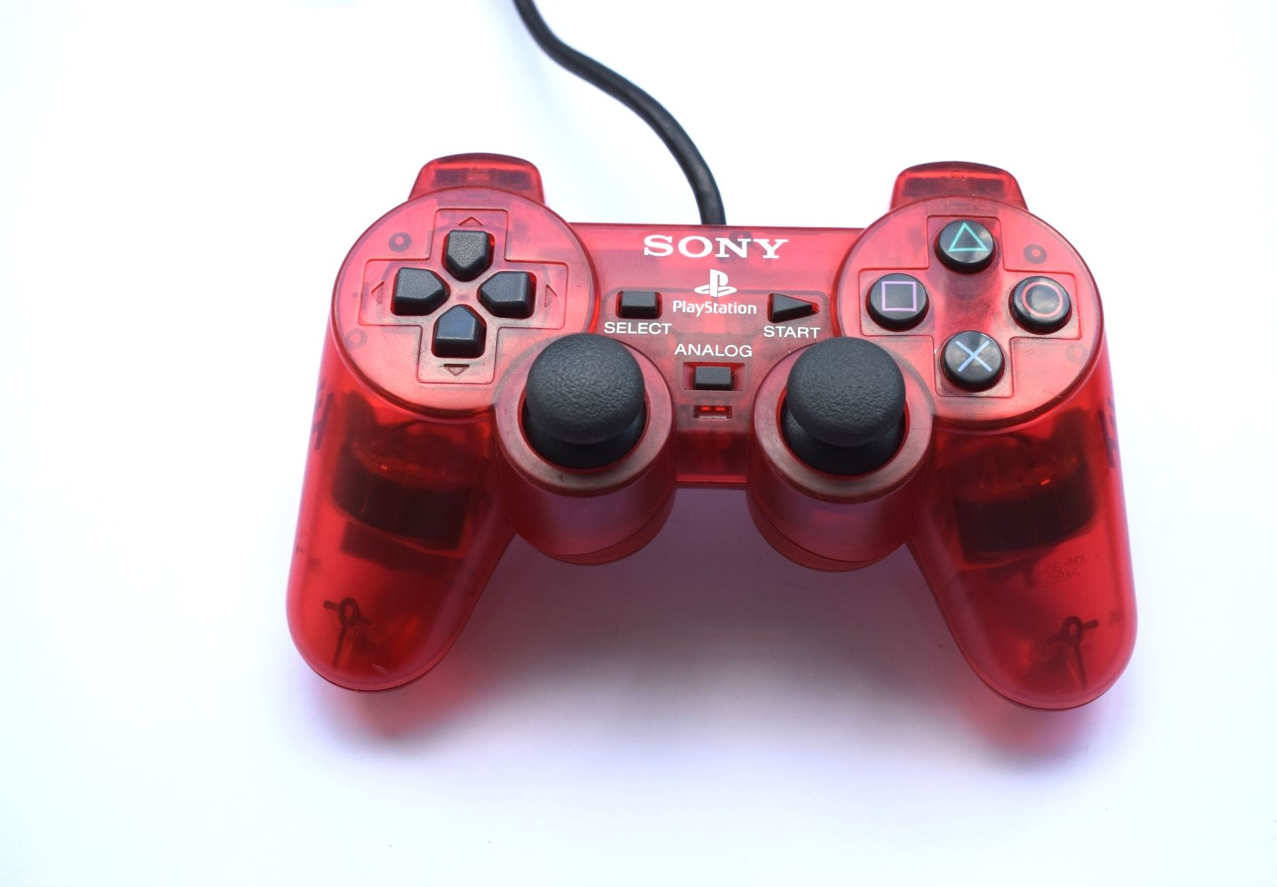 Original-Official-Sony-Dual-Shock-2-PS2-Wired-Controller-Pad-Multiple-Colours thumbnail 22