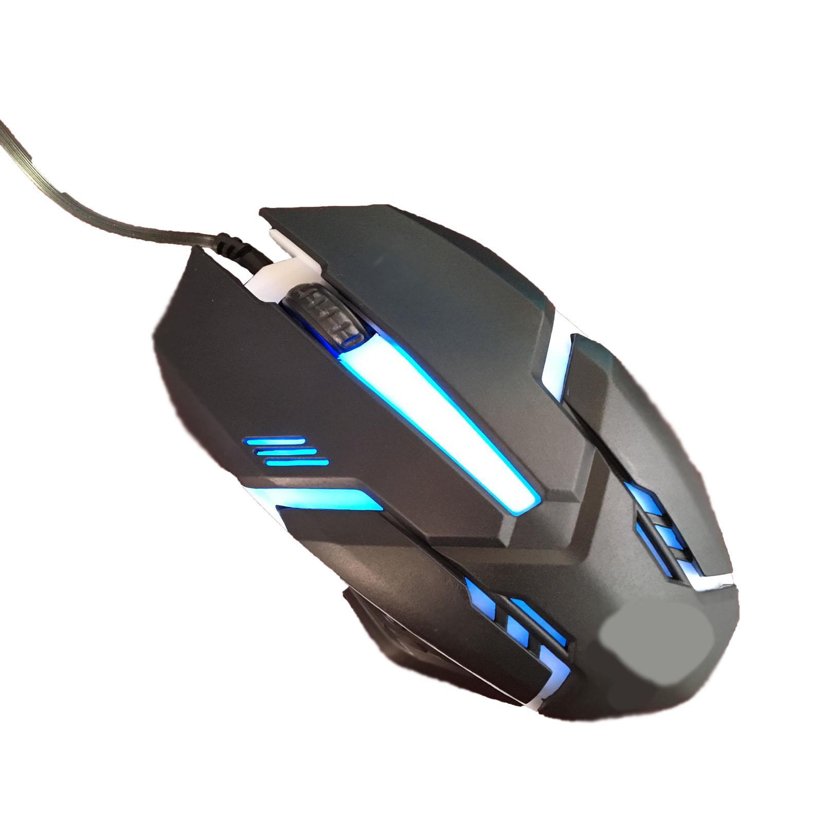 Gaming-Keyboard-Mouse-Backlit-Rainbow-LED-USB-Set-for-PC-Laptop-PS4-Xbox-One thumbnail 20