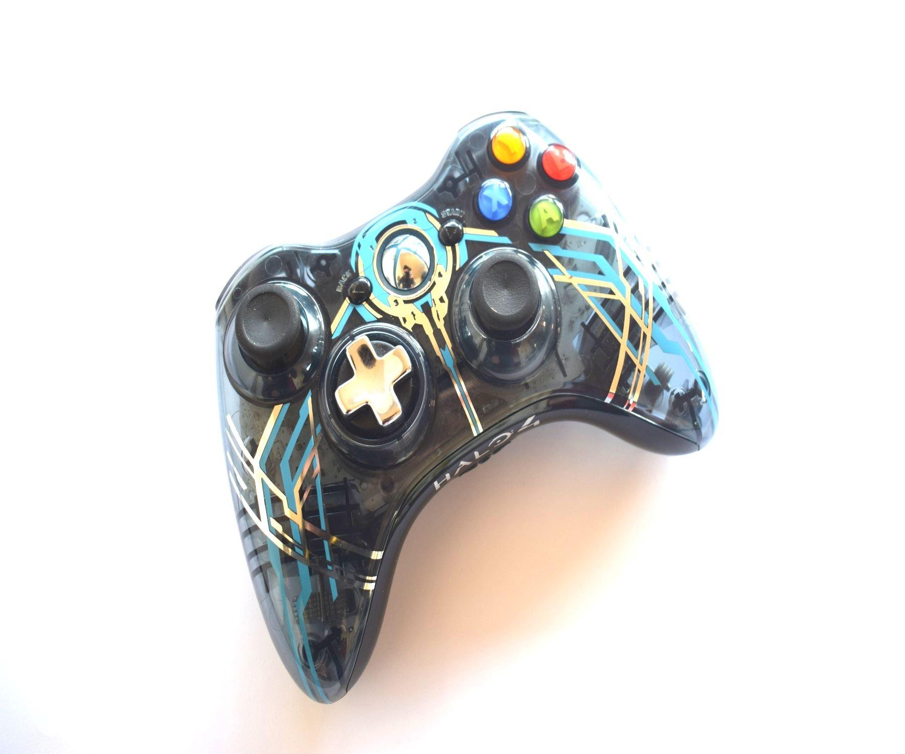 Official-Original-Genuine-Microsoft-Xbox-360-Controller-Pads-Various-Colours thumbnail 38