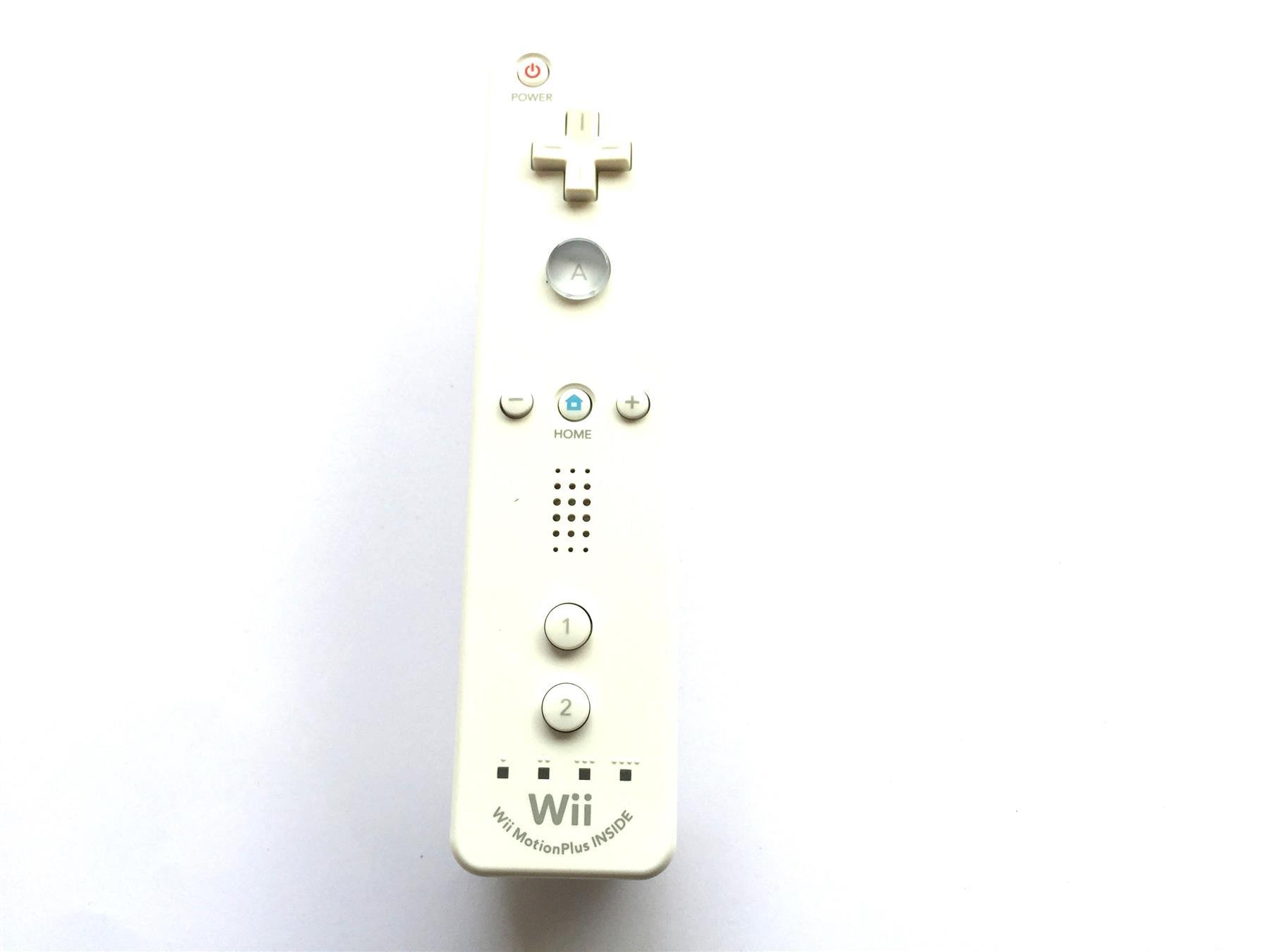 Official-Nintendo-Wii-amp-Remote-U-Plus-Genuine-Original-Controller miniatuur 59