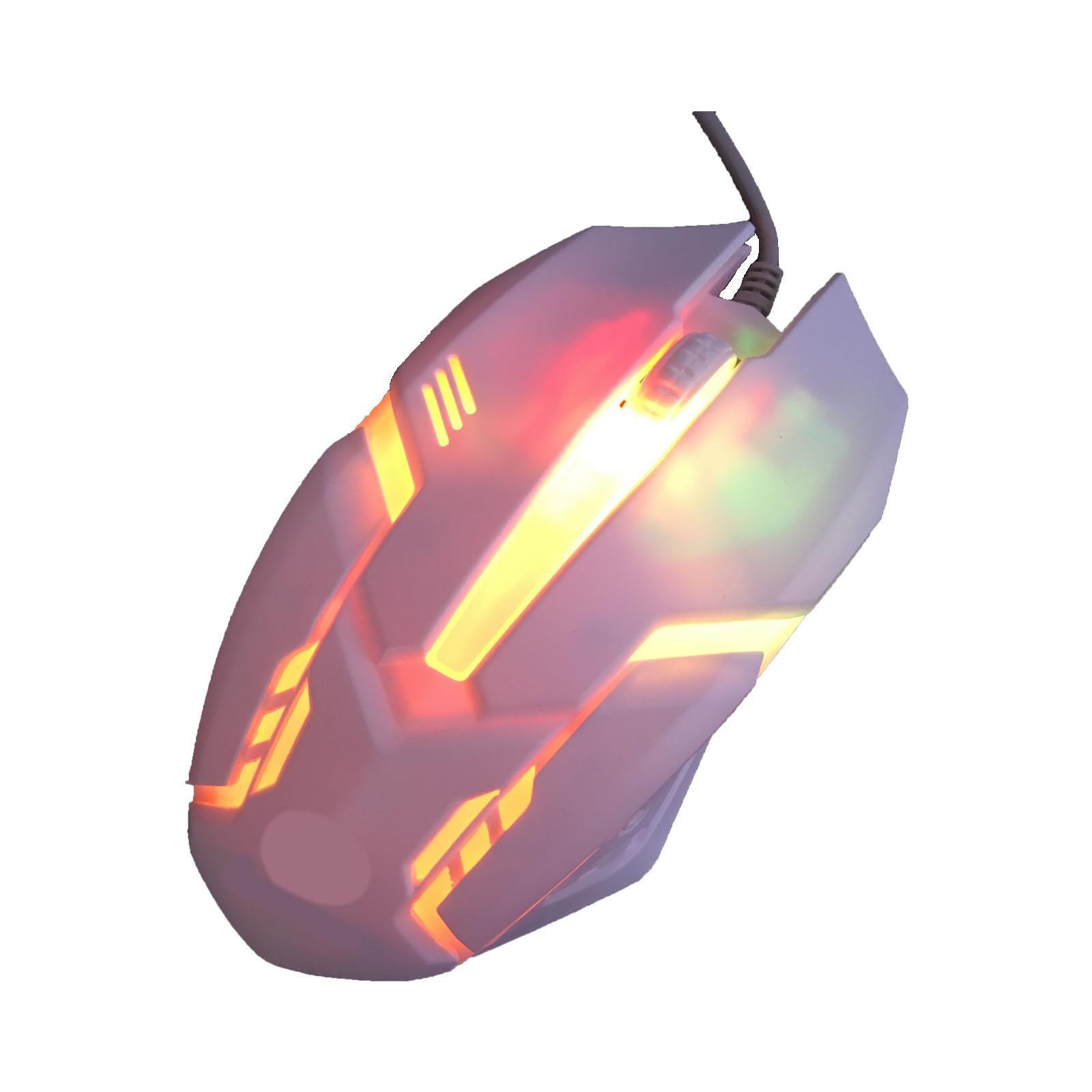 Gaming-Keyboard-Mouse-Backlit-Rainbow-LED-USB-Set-for-PC-Laptop-PS4-Xbox-One thumbnail 29