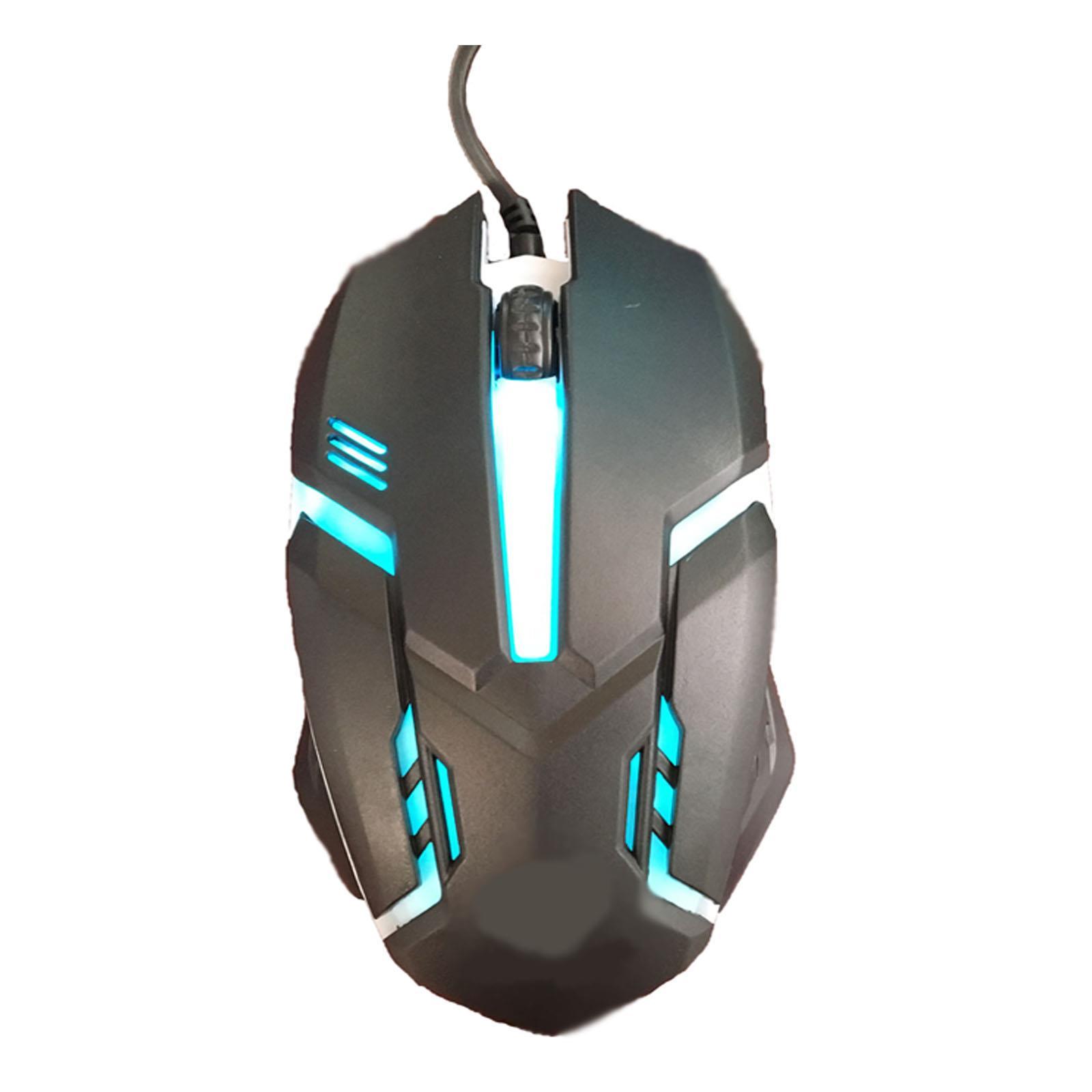 Gaming-Keyboard-Mouse-Backlit-Rainbow-LED-USB-Set-for-PC-Laptop-PS4-Xbox-One thumbnail 22