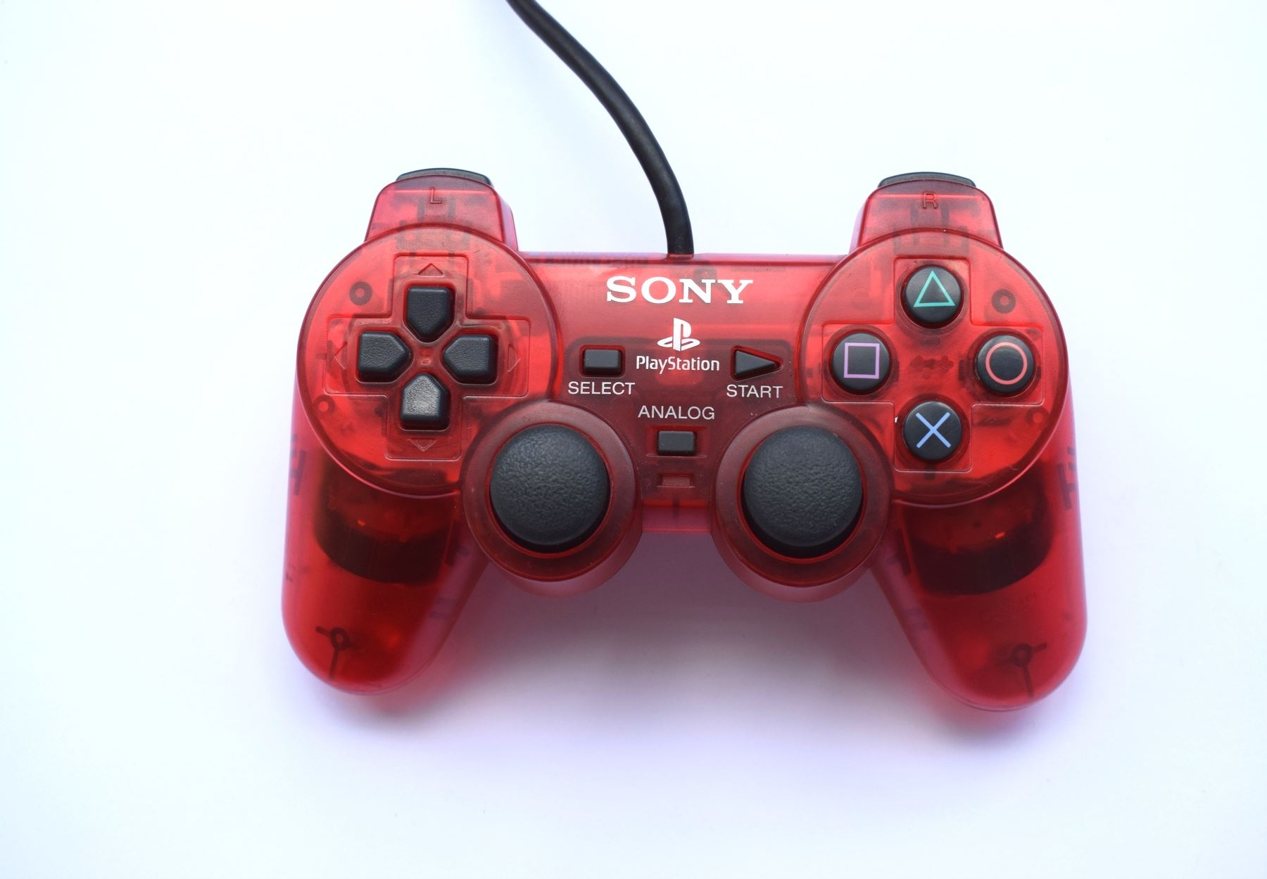 Original-Official-Sony-Dual-Shock-2-PS2-Wired-Controller-Pad-Multiple-Colours thumbnail 34