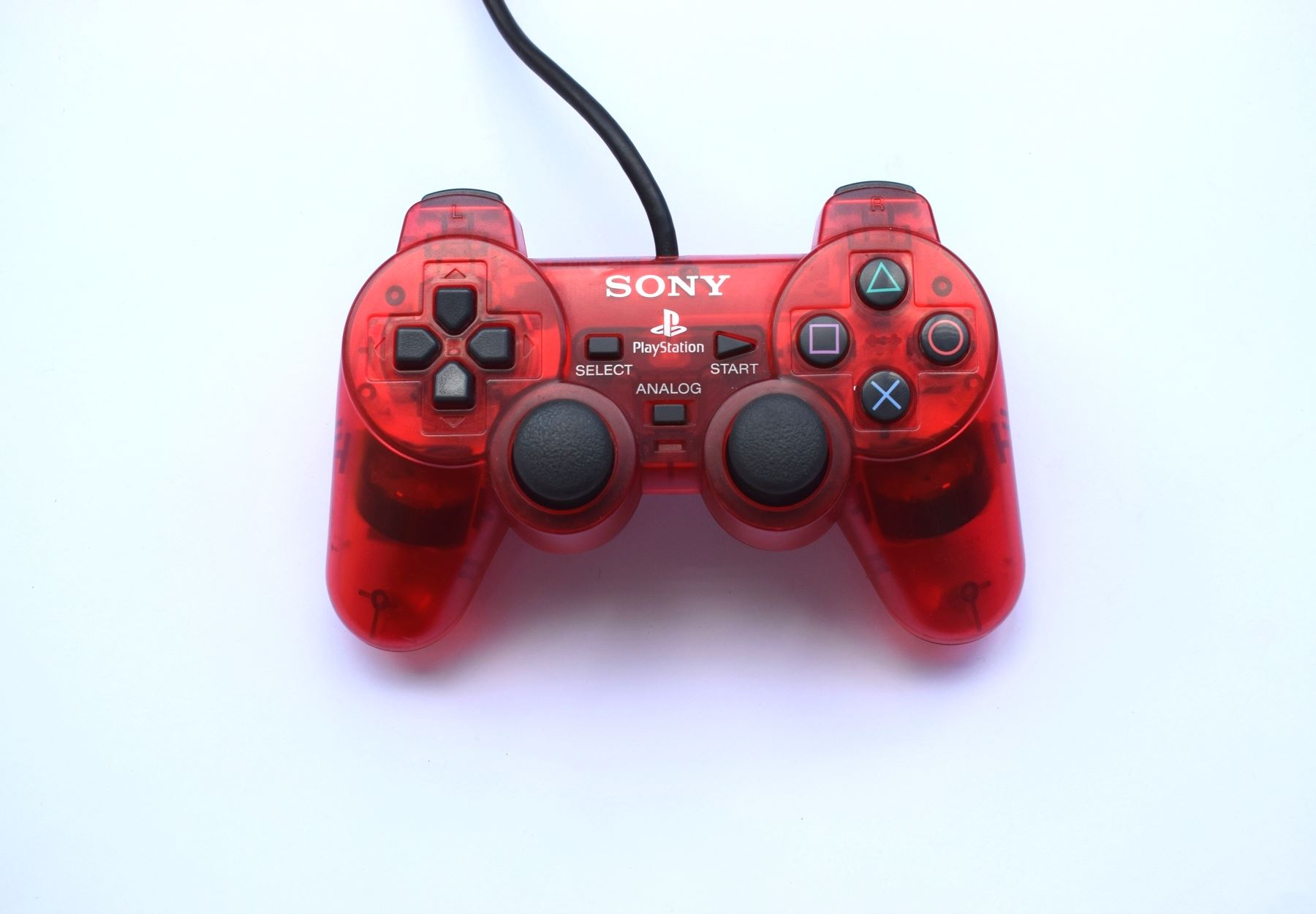 Original-Official-Sony-Dual-Shock-2-PS2-Wired-Controller-Pad-Multiple-Colours thumbnail 20