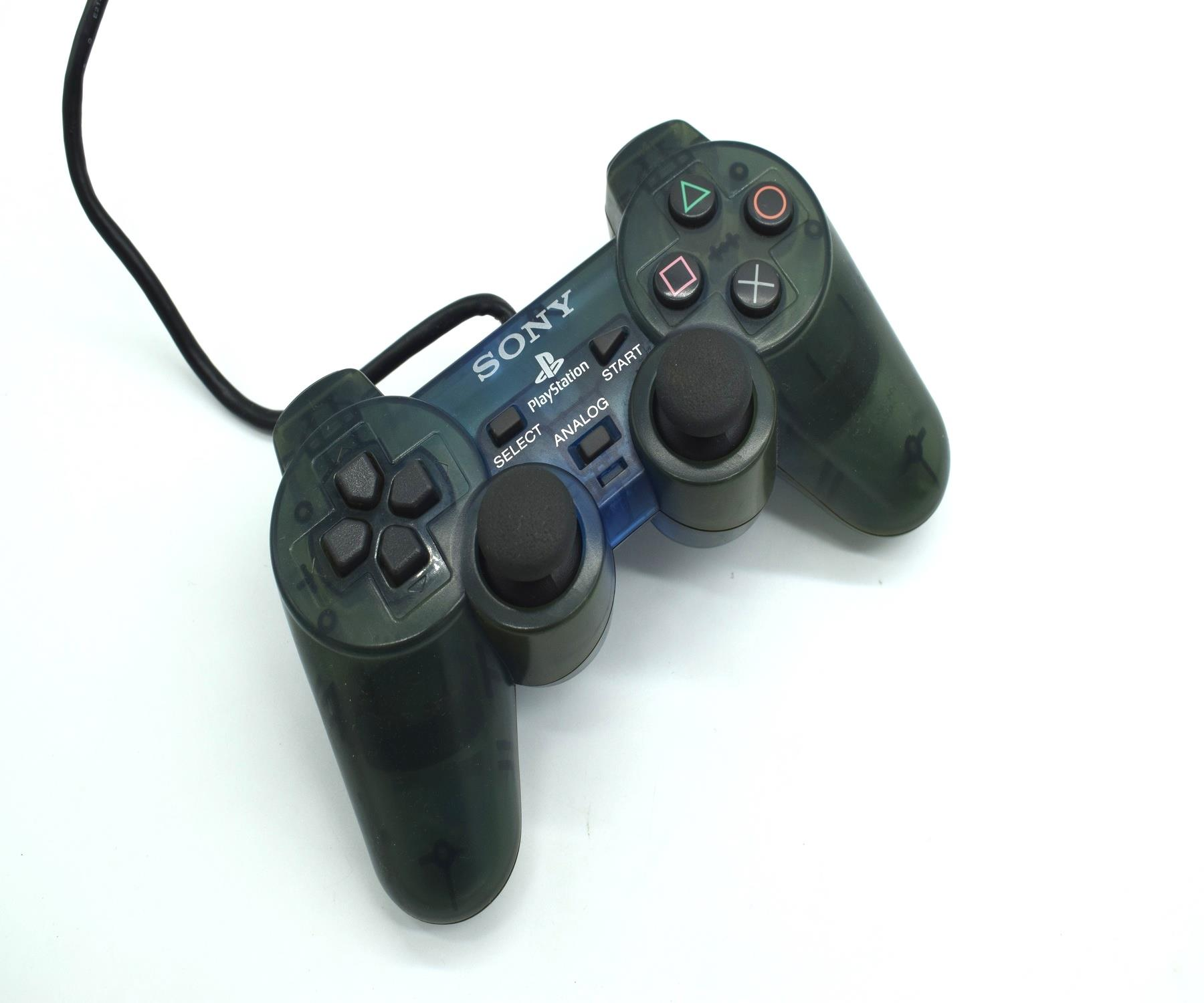 Original-Official-Sony-Dual-Shock-2-PS2-Wired-Controller-Pad-Multiple-Colours thumbnail 10