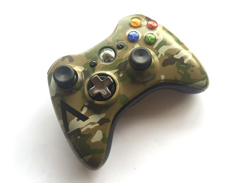 Official-Original-Genuine-Microsoft-Xbox-360-Controller-Pads-Various-Colours thumbnail 15
