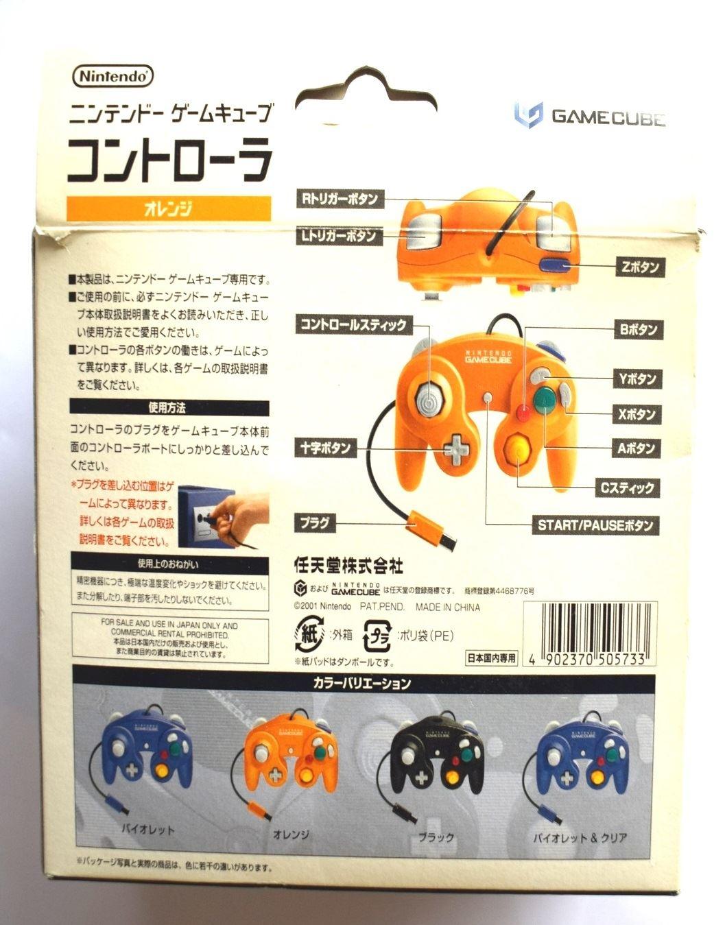 Nintendo-Gamecube-Ufficiale-Originale-Controller-Vari-Colori-Disponibile thumbnail 9