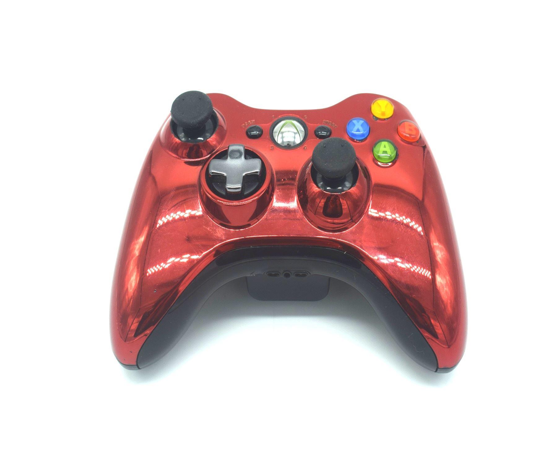 Official-Original-Genuine-Microsoft-Xbox-360-Controller-Pads-Various-Colours thumbnail 26