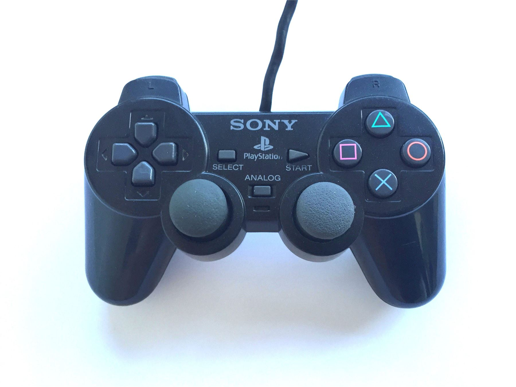 Original-Official-Sony-Dual-Shock-2-PS2-Wired-Controller-Pad-Multiple-Colours thumbnail 5