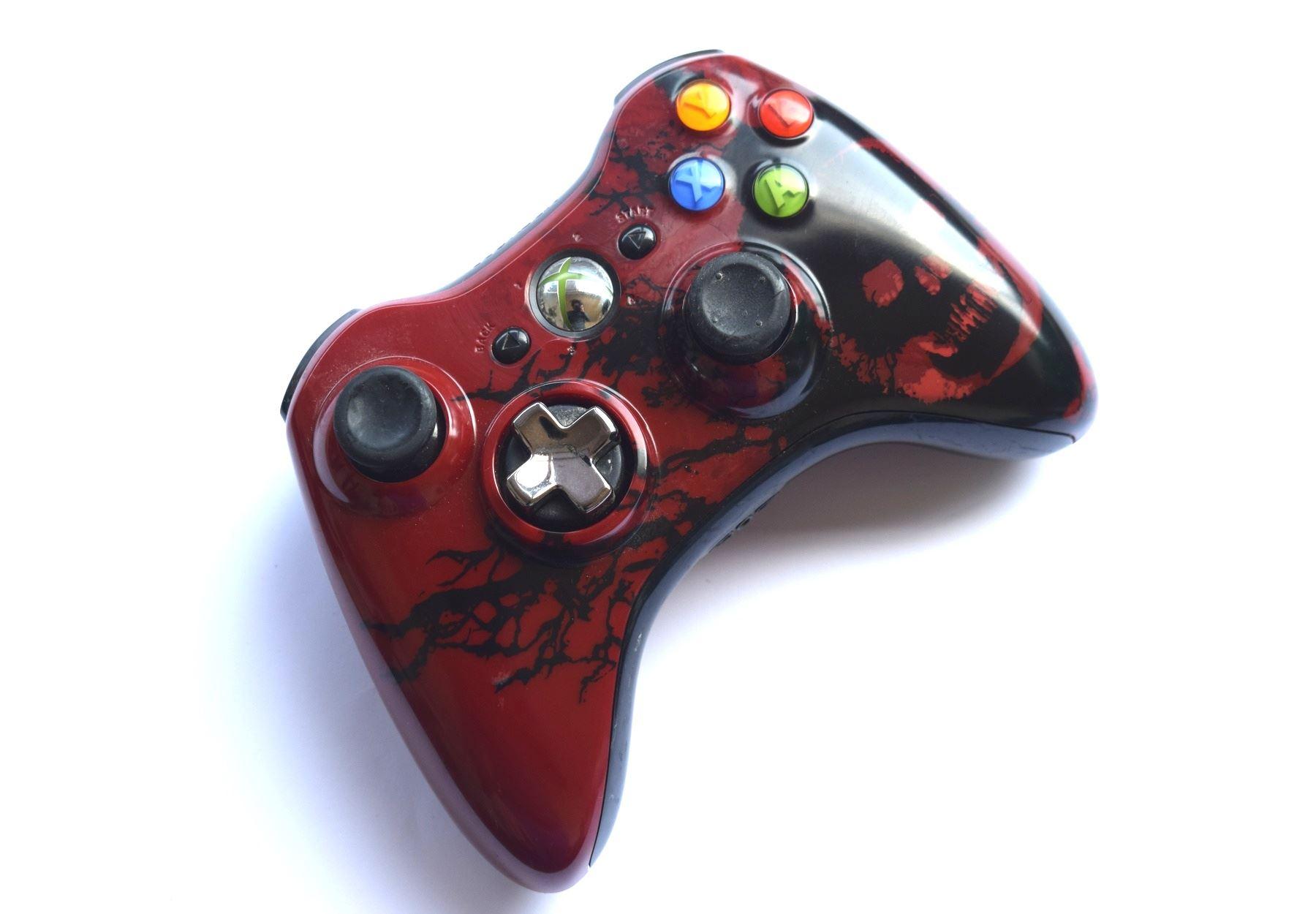 Official-Original-Genuine-Microsoft-Xbox-360-Controller-Pads-Various-Colours thumbnail 32