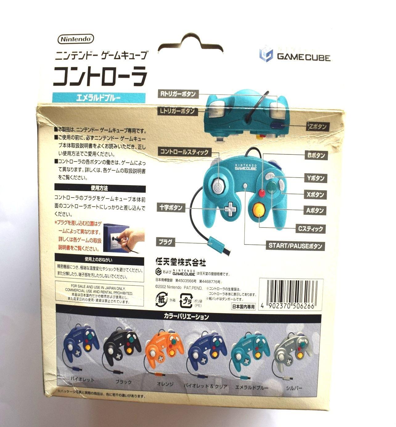 Nintendo-Gamecube-Ufficiale-Originale-Controller-Vari-Colori-Disponibile thumbnail 24