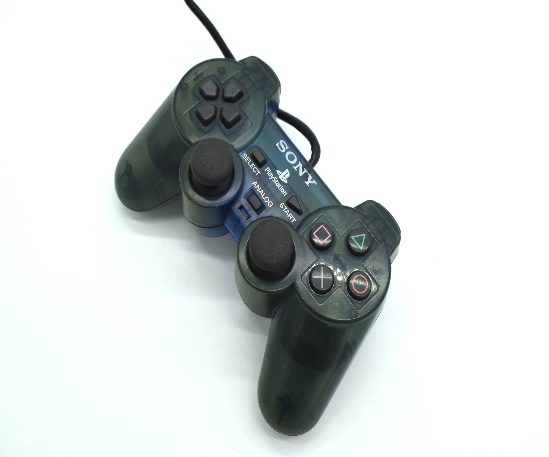 Original-Official-Sony-Dual-Shock-2-PS2-Wired-Controller-Pad-Multiple-Colours thumbnail 11