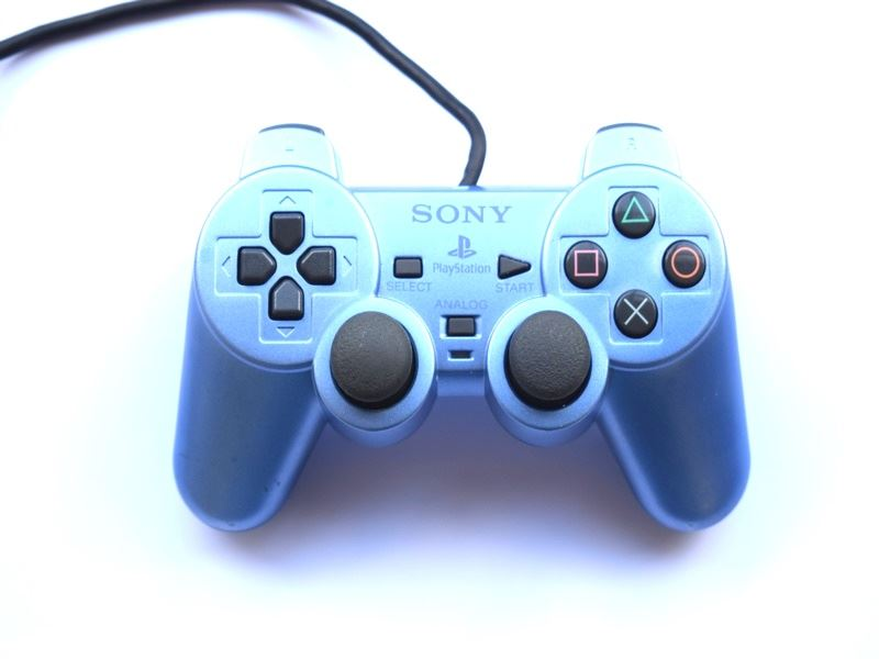Original-Official-Sony-Dual-Shock-2-PS2-Wired-Controller-Pad-Multiple-Colours thumbnail 2