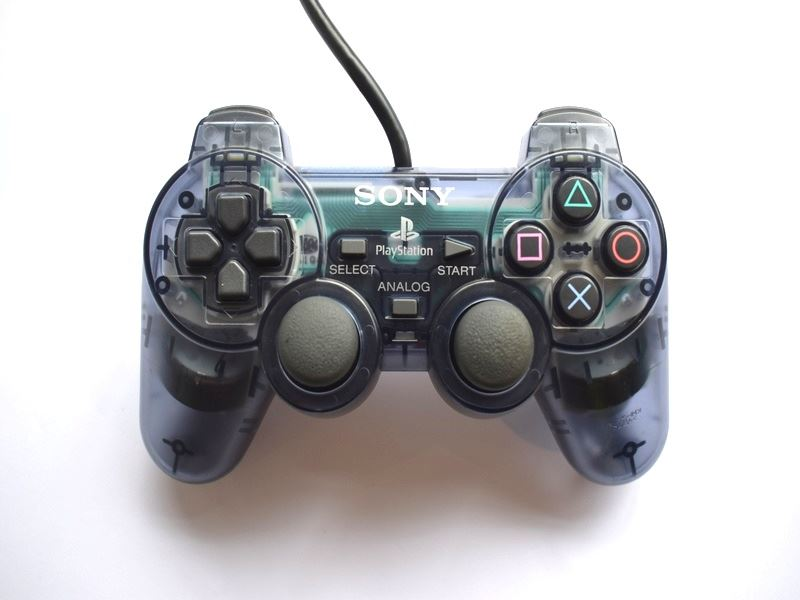 Original-Official-Sony-Dual-Shock-2-PS2-Wired-Controller-Pad-Multiple-Colours thumbnail 8