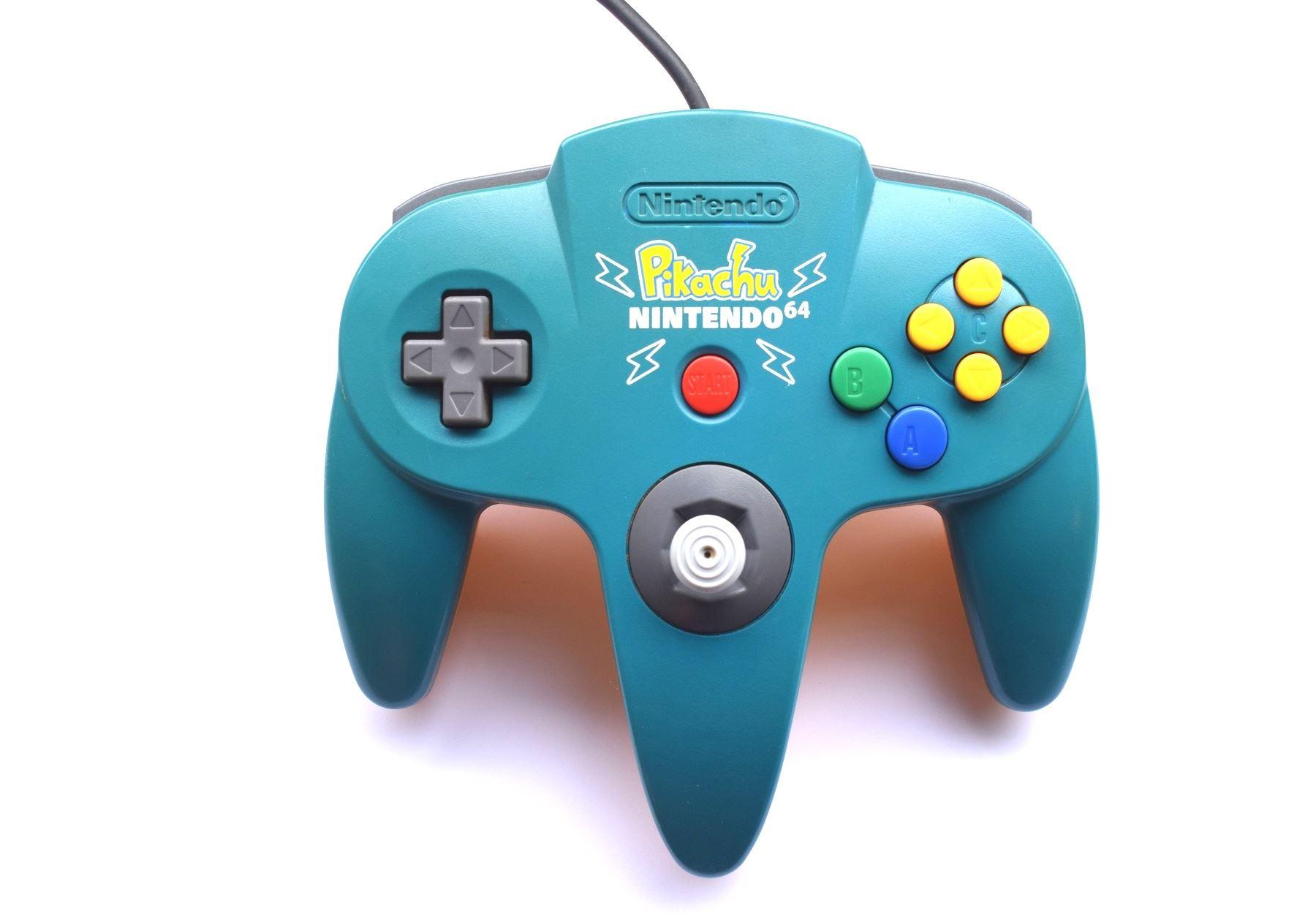 Official-Original-Nintendo-64-N64-Genuine-Controller-Game-Pads thumbnail 11