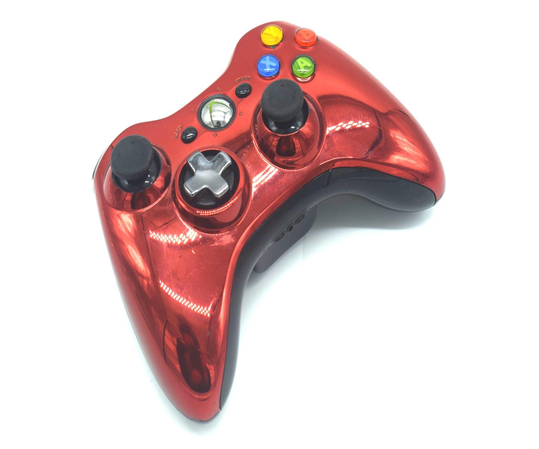 Official-Original-Genuine-Microsoft-Xbox-360-Controller-Pads-Various-Colours thumbnail 23