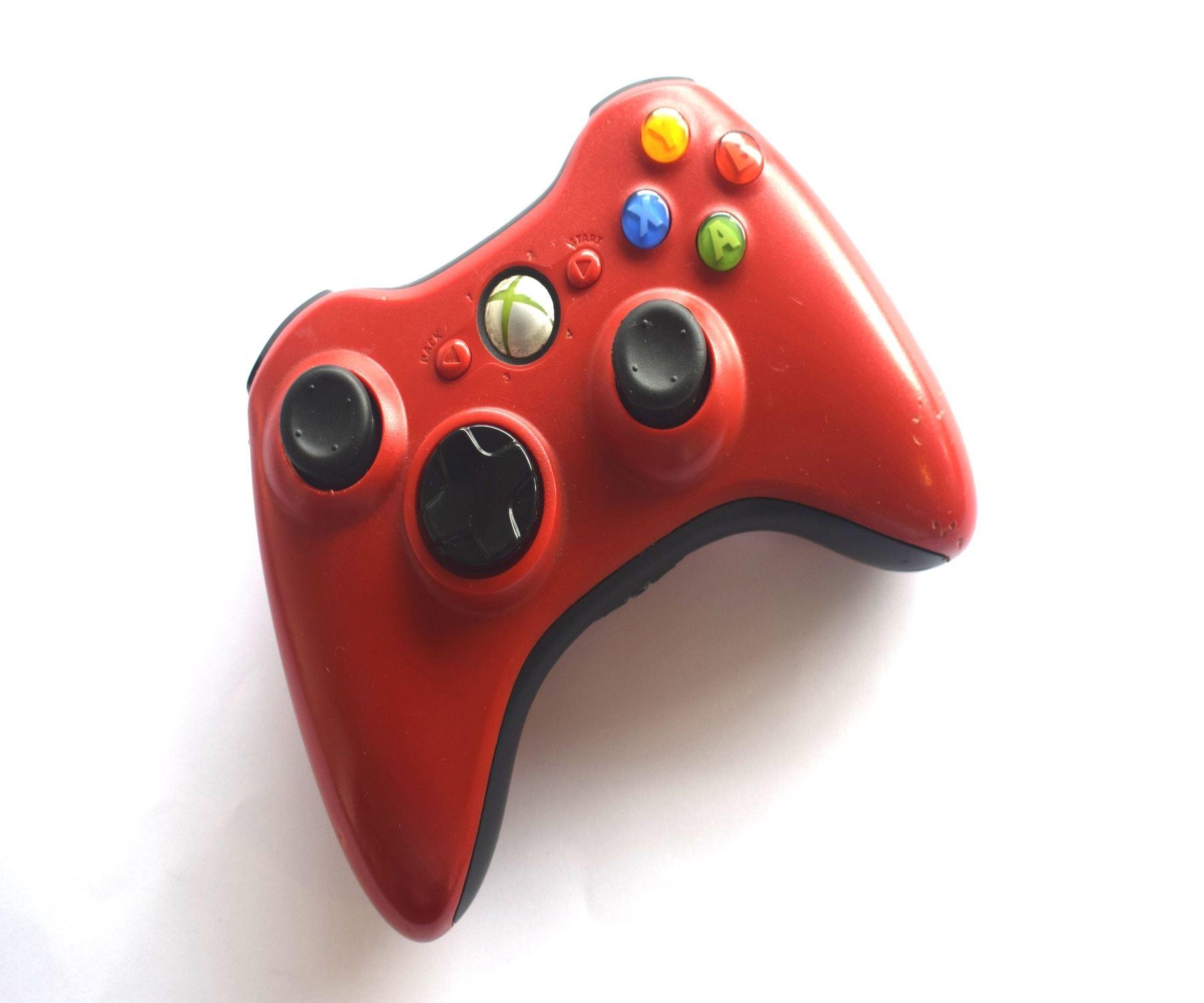 Official-Original-Genuine-Microsoft-Xbox-360-Controller-Pads-Various-Colours thumbnail 50