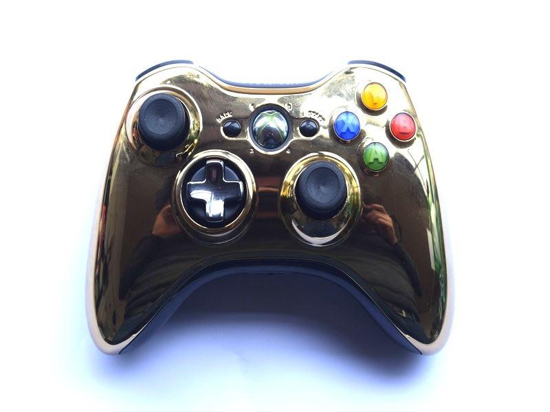 Official-Original-Genuine-Microsoft-Xbox-360-Controller-Pads-Various-Colours thumbnail 20
