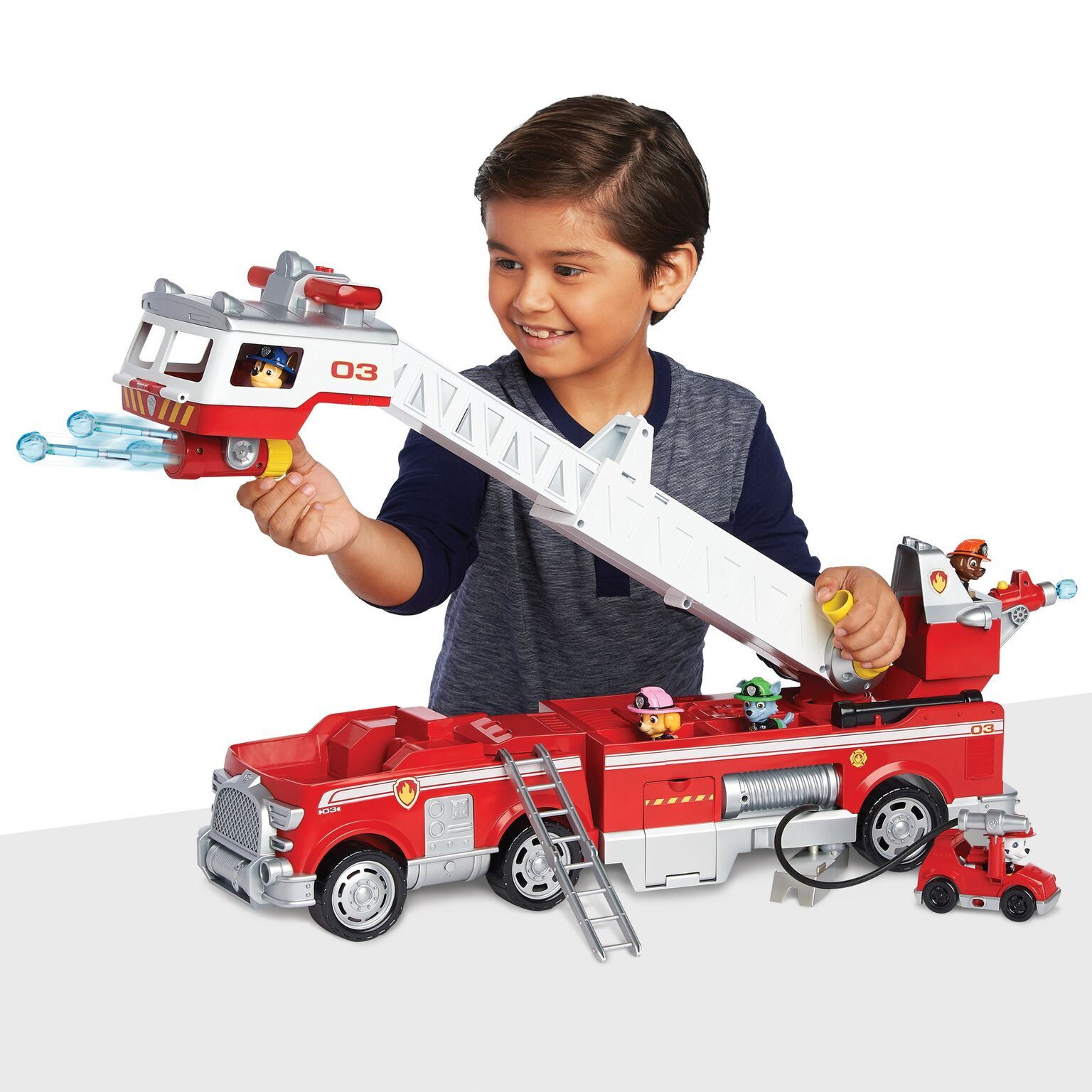 Paw Patrol - Ultimate Rescue -  Marshall's Deluxe Fire Truck