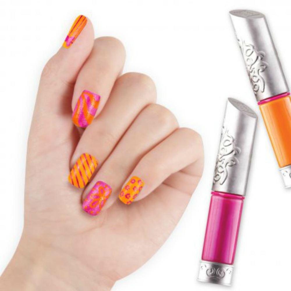 nail art kits girls nail varnish kits by style me up free p p ebay. Black Bedroom Furniture Sets. Home Design Ideas