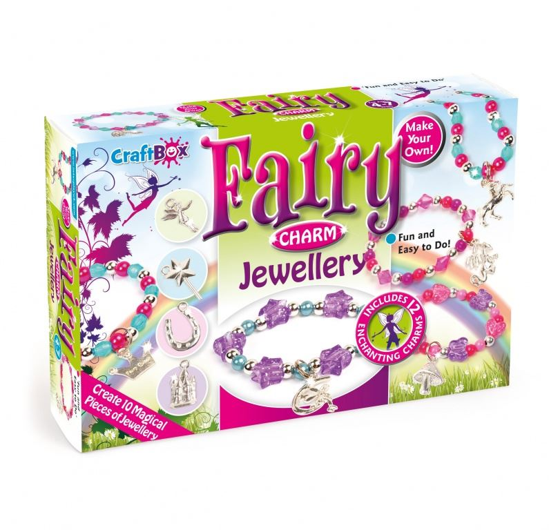 Craft Box Childrens Jewellery Making Kits By Interplay Kids Craft
