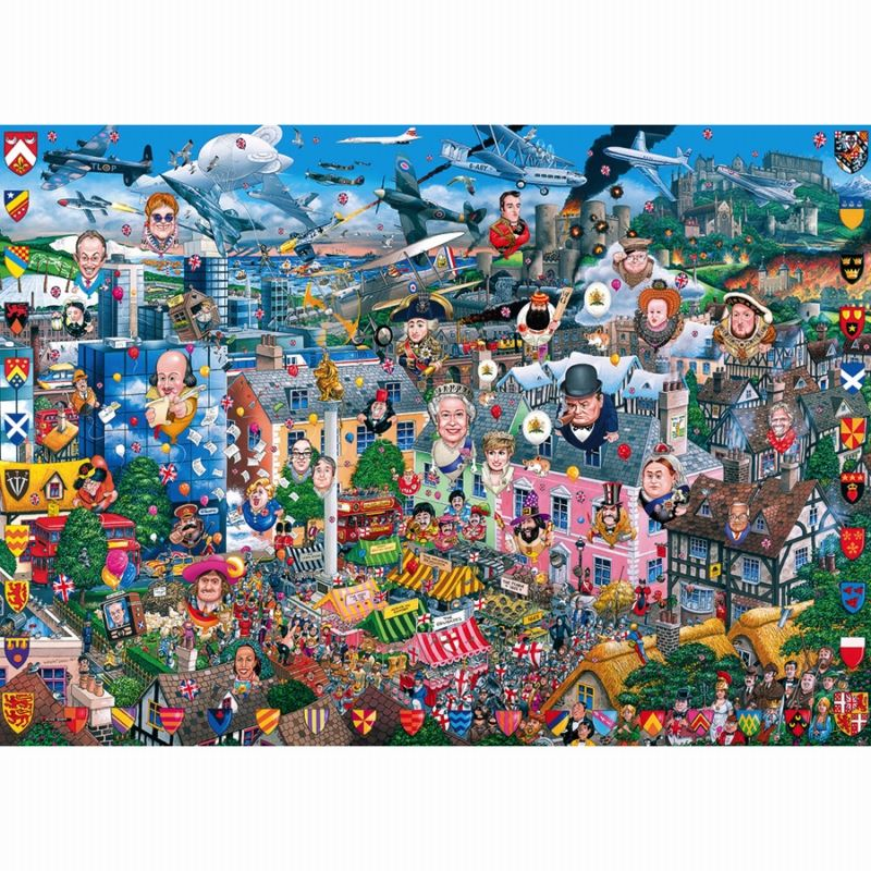 Gibsons-Jigsaw-250-500-amp-1000-Piece-Puzzles-FREE-P-amp-P thumbnail 21
