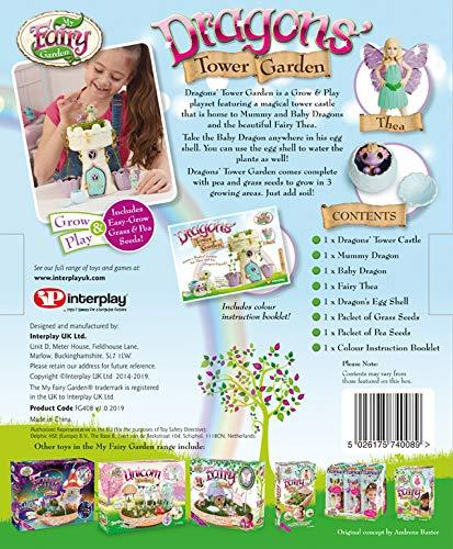 My Fairy Garden Flower Pot Unicorn Garden By Interplay Fairy