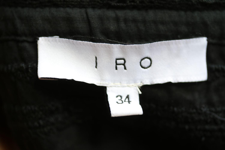 IRO IRO IRO CLORIANE Lace-Trim Voile Top FR 34 5c5442
