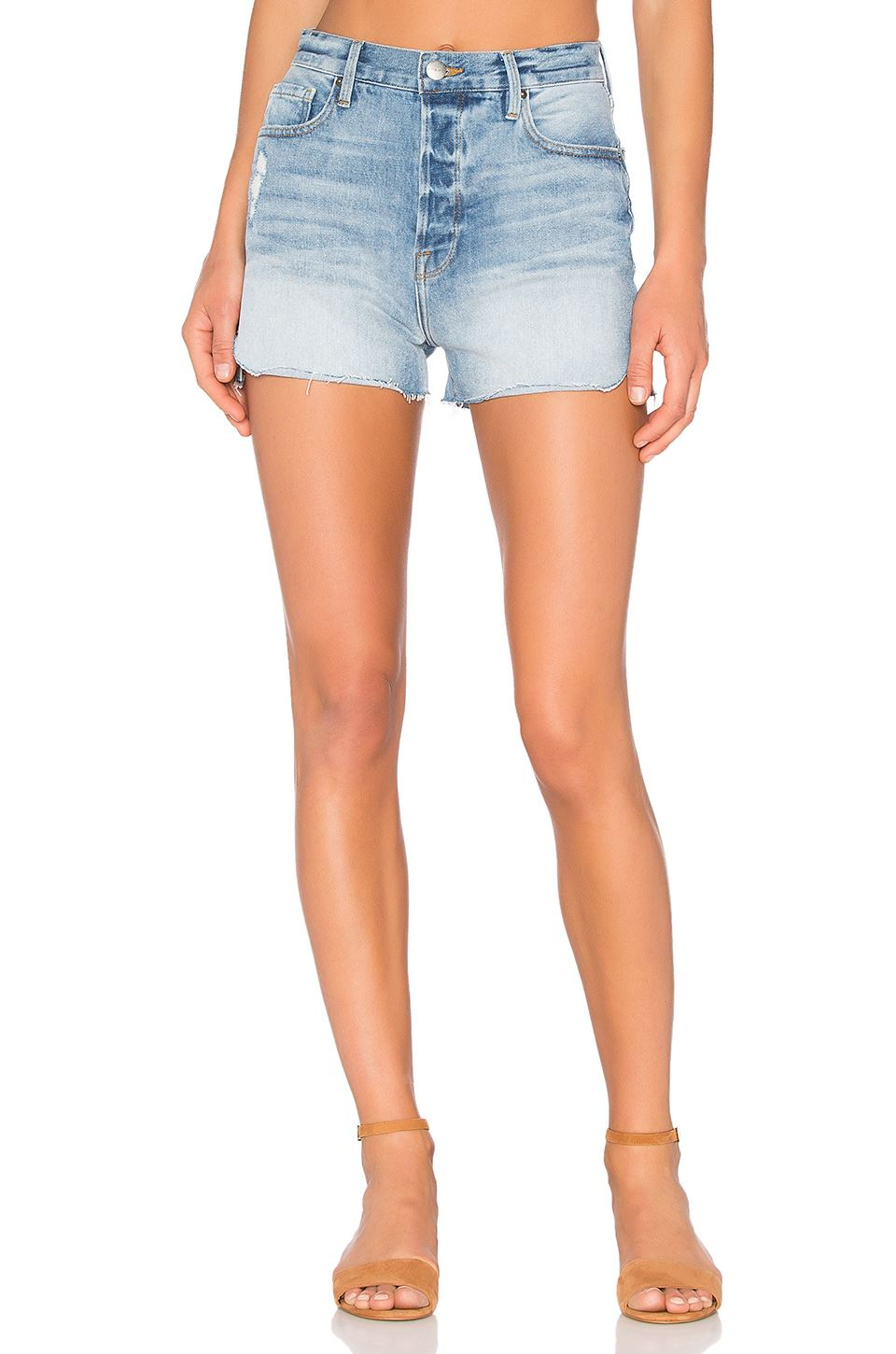 FRAME DENIM LE ORIGINAL TULIP SHORTS IN CHLOE W27  10