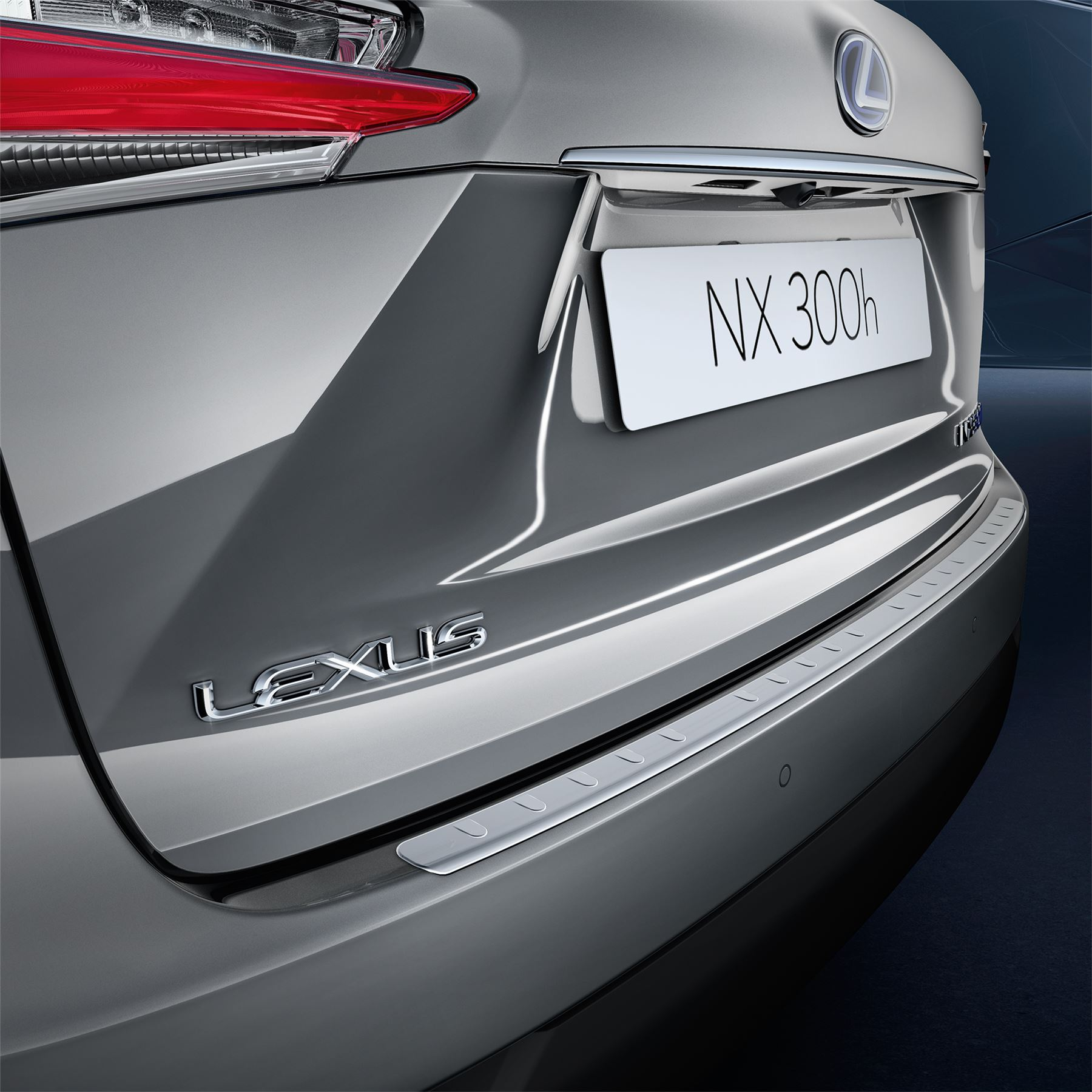 Genuine Lexus Accesory NG IS Rear Bumper Plastic Protector