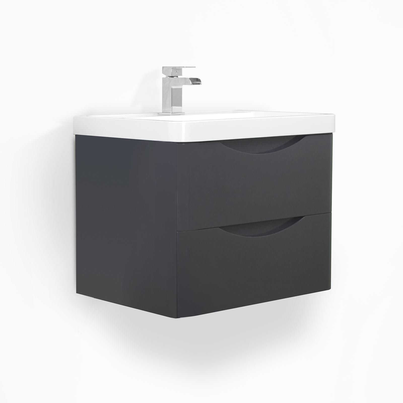 Bathroom cabinets black gloss interior design - Bathroom cabinets black gloss ...