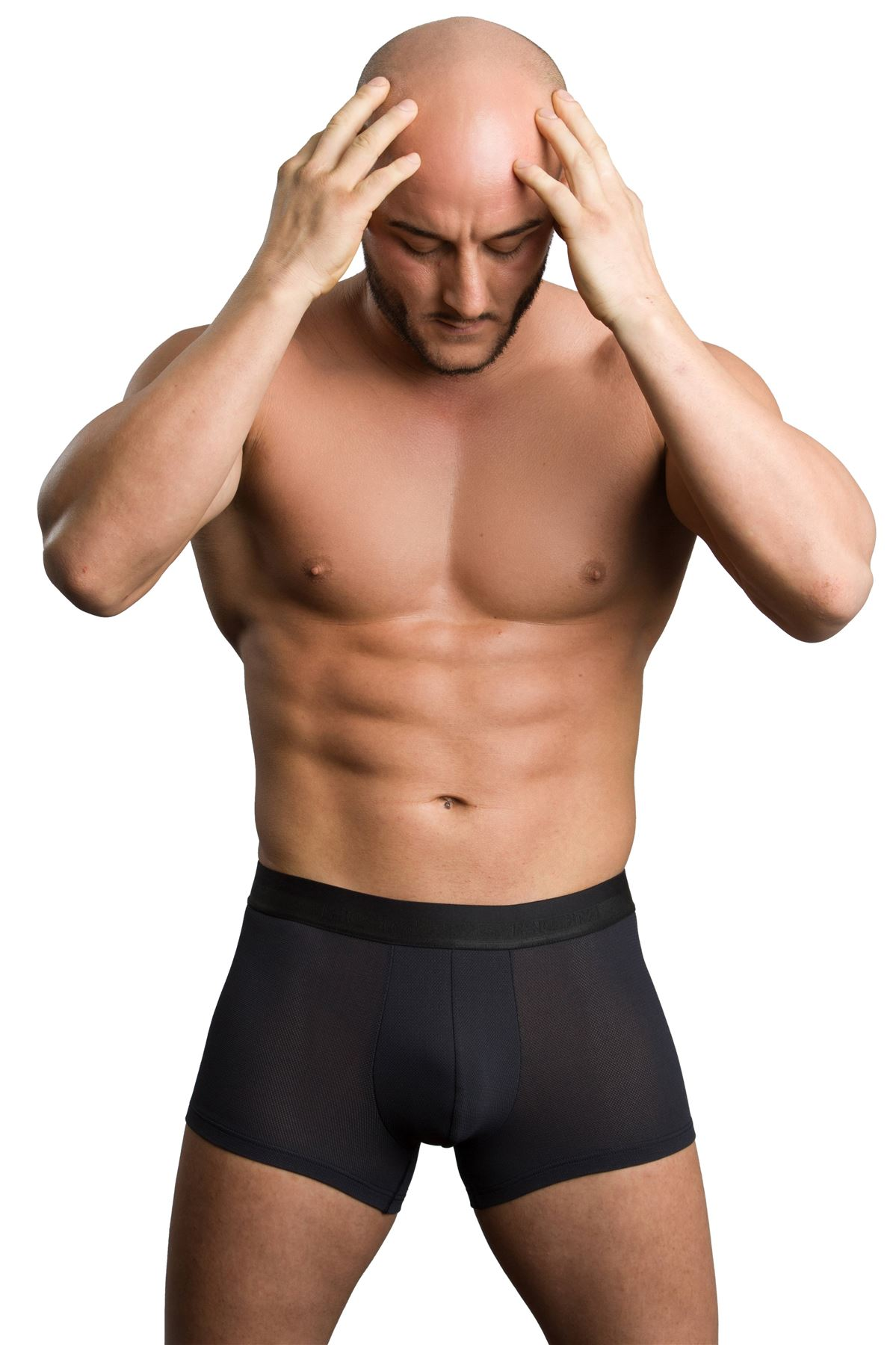 hom Mens Mesh Boxer Briefs