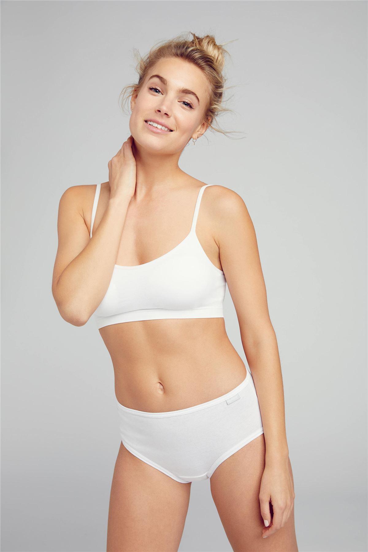 Jockey Womens Underwear Elance Bikini Brief pure Cotton 3 Pack Various Colours