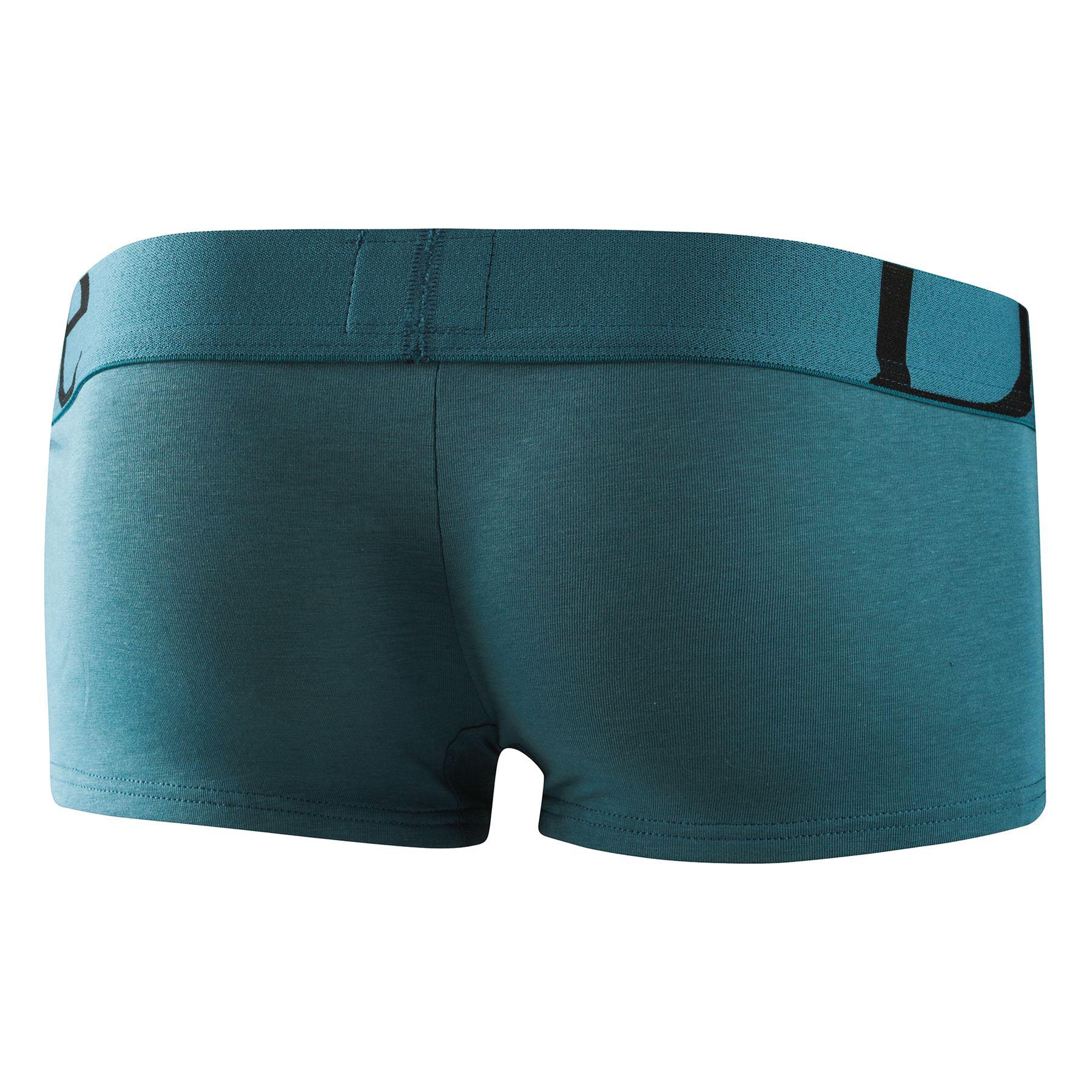 Doreanse Men/'s 1744 Sports Boxer Brief Grey Cotton Mix Short Trunk Hipster