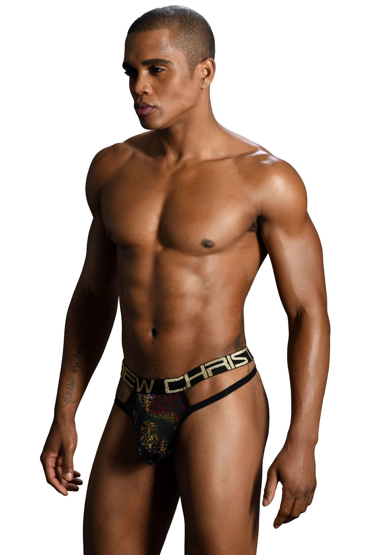 shopping big discount of 2019 shades of Details about Andrew Christian Almost Naked Disco Spider Thong mens  underwear string enhancing