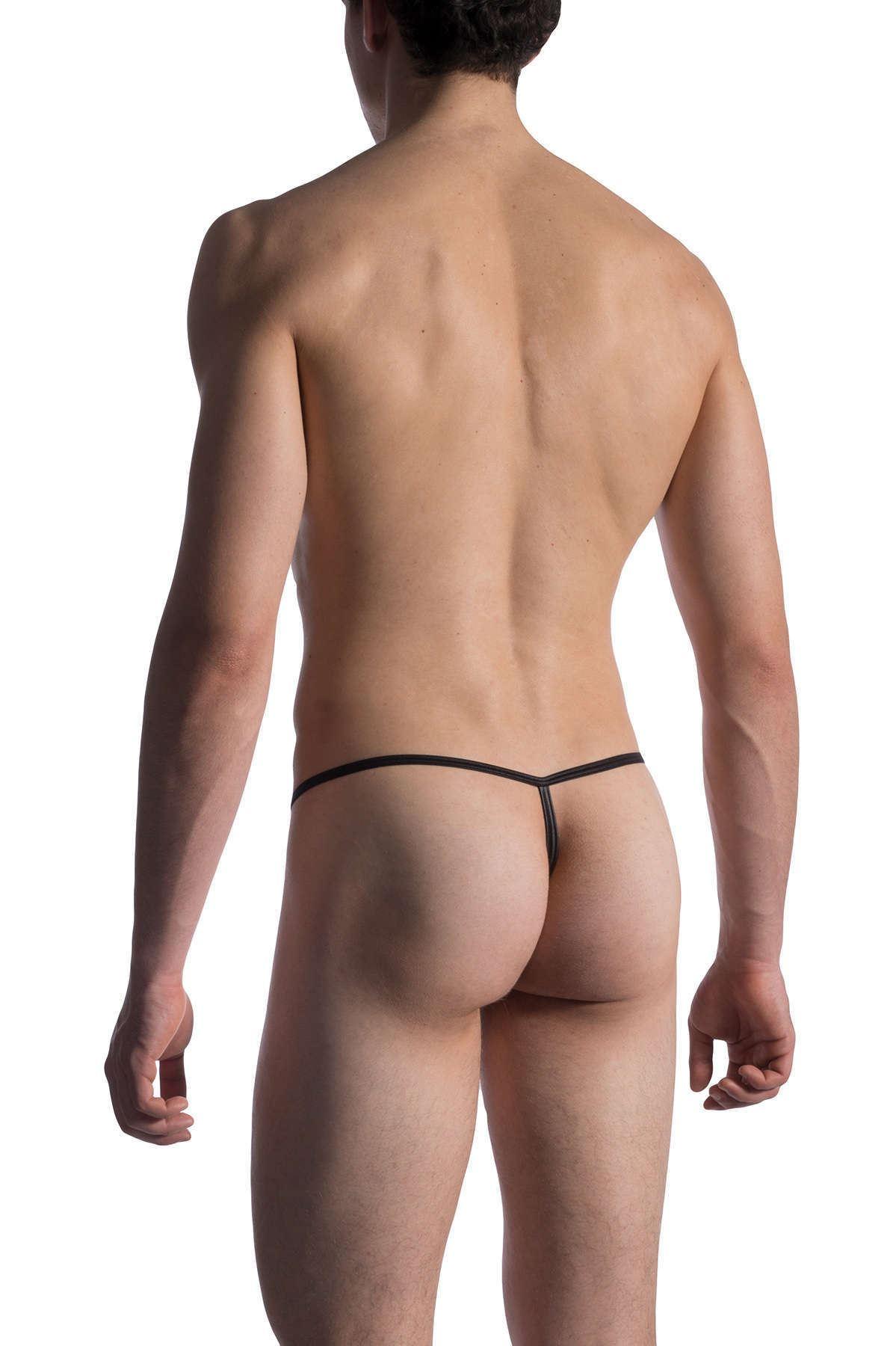 Manstore Men/'s M814 Swim Micro Pouch String Swimwear Minimal Coverage