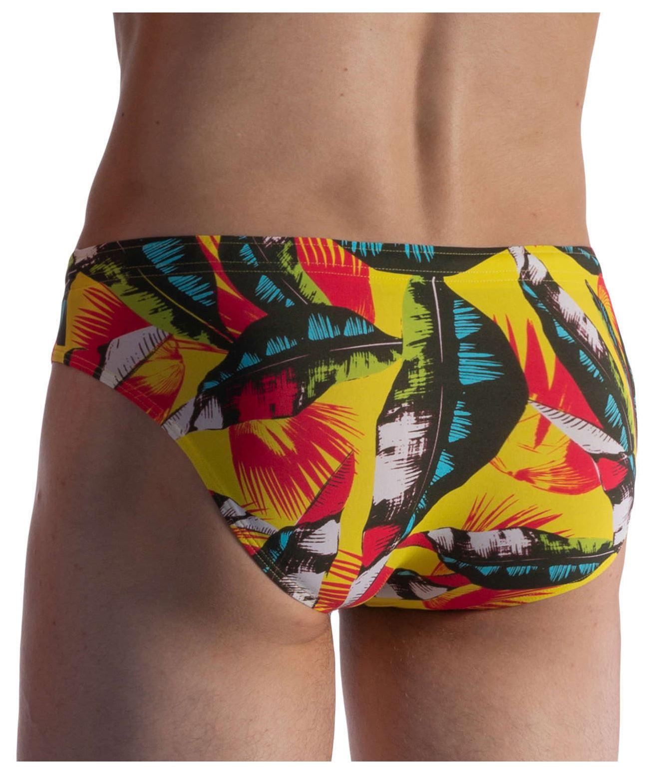 7cd67d81312e Detalles de Olaf Benz Blu 1853 Playa breve para hombre de Baño Bikini Macho  Slip Multicolor- ver título original