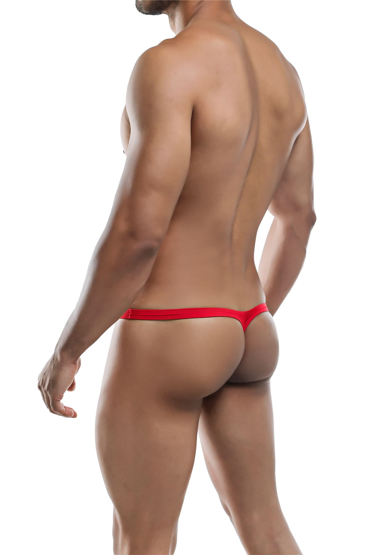 Joe-Snyder-Polyester-Collection-Thong-Bulge-02-Mens-Underwear-Swimwear-String miniatura 7