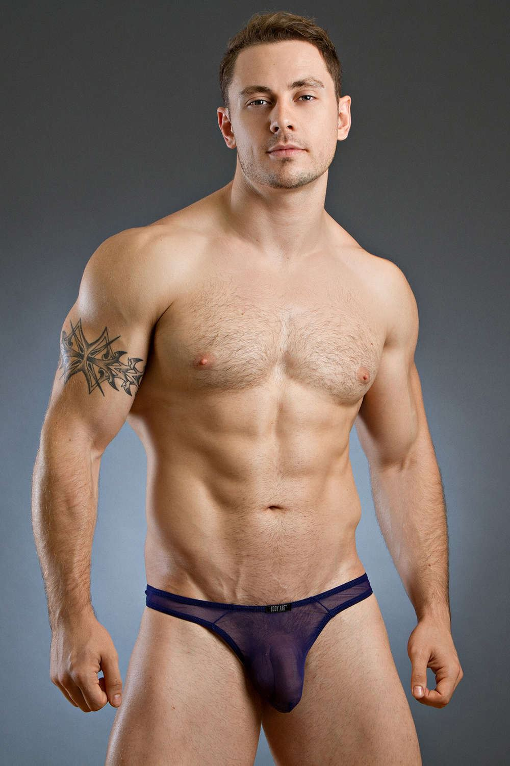 Take your underwear up a notch with sexy, stylish, designer men's underwear. Men's thongs, tangas, boxers, and lace lingerie. We also have an excellent selection of men's lingerie to spice things up.