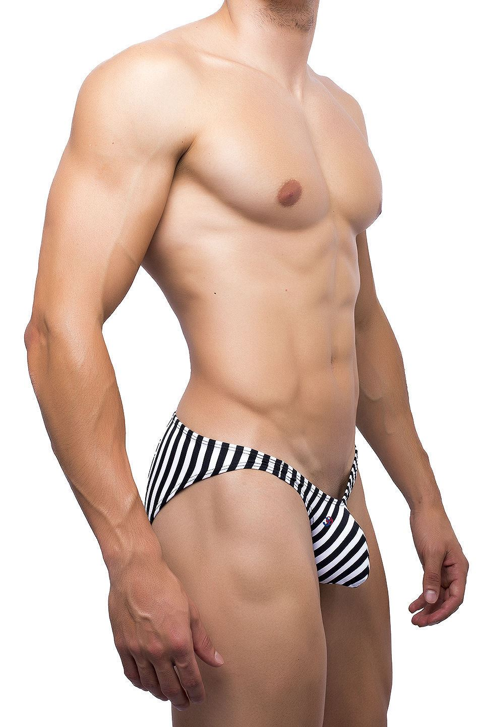 What excellent joe snyder bulge bikini white