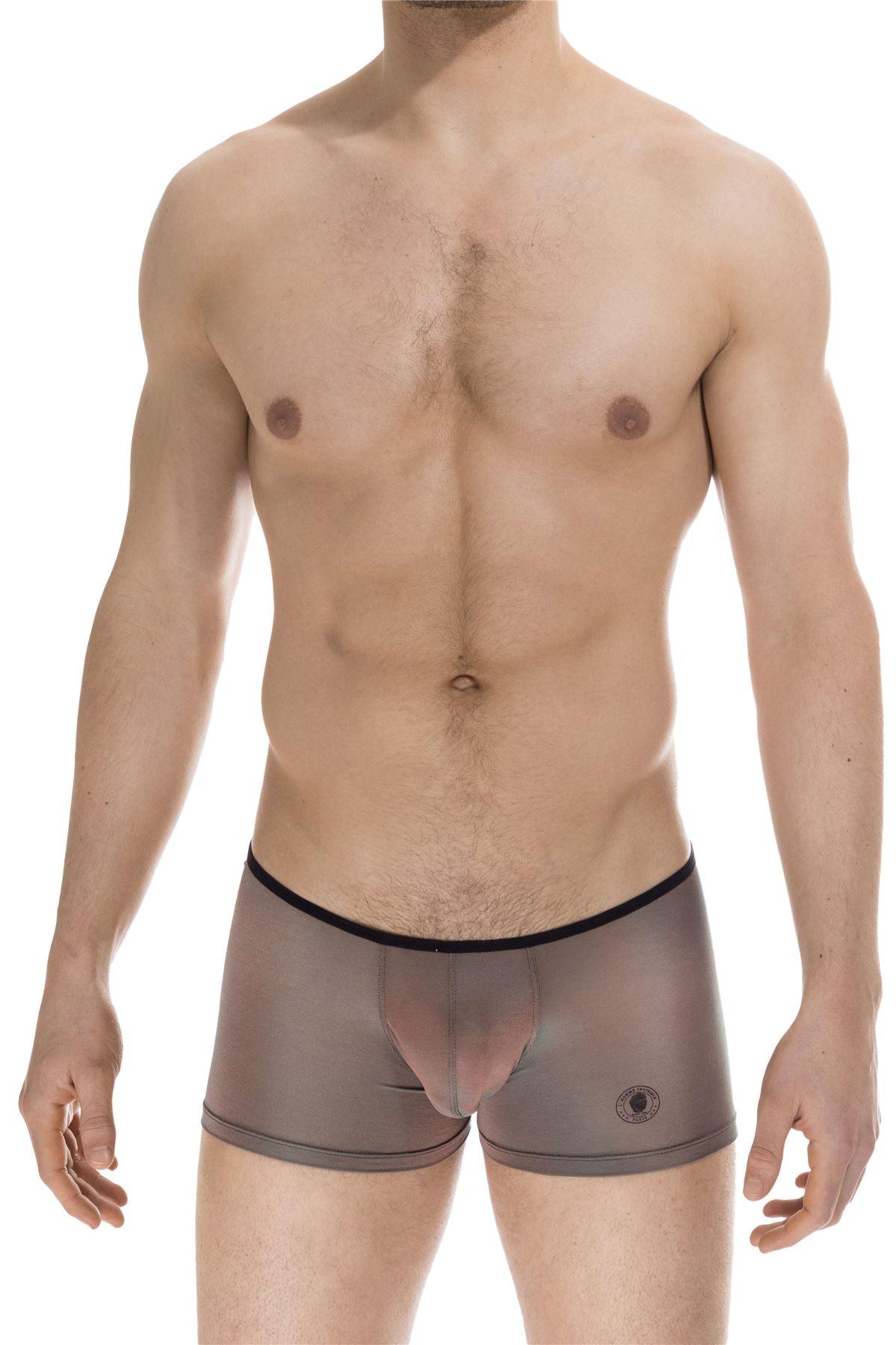L/'Homme Invisible Men/'s Sensitive Shorty Boxer Brief Underwear Hipster Trunk
