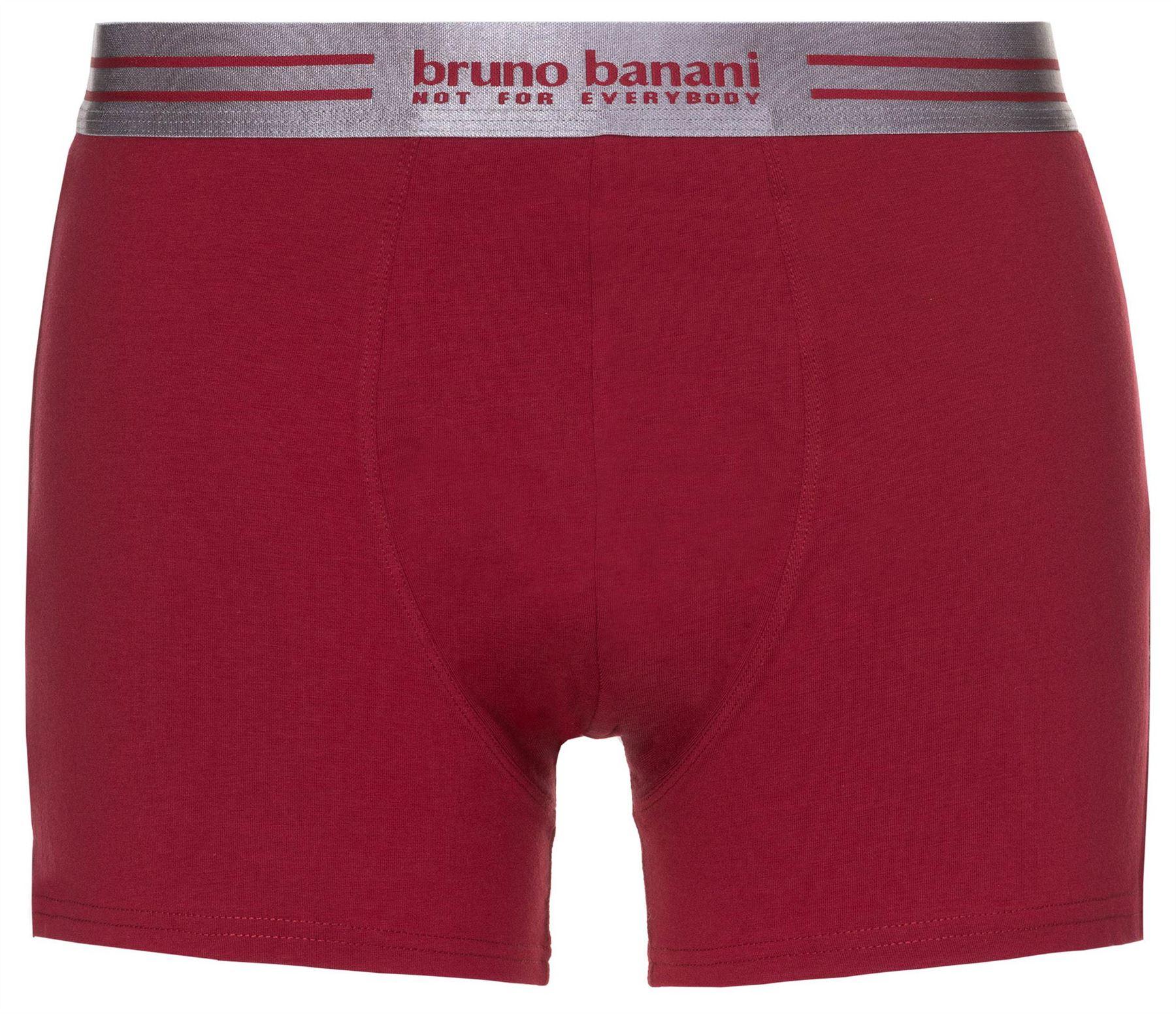 Bruno Banani Straight Line Hip Short Smooth Pinstripe Boxer Brief Trunk