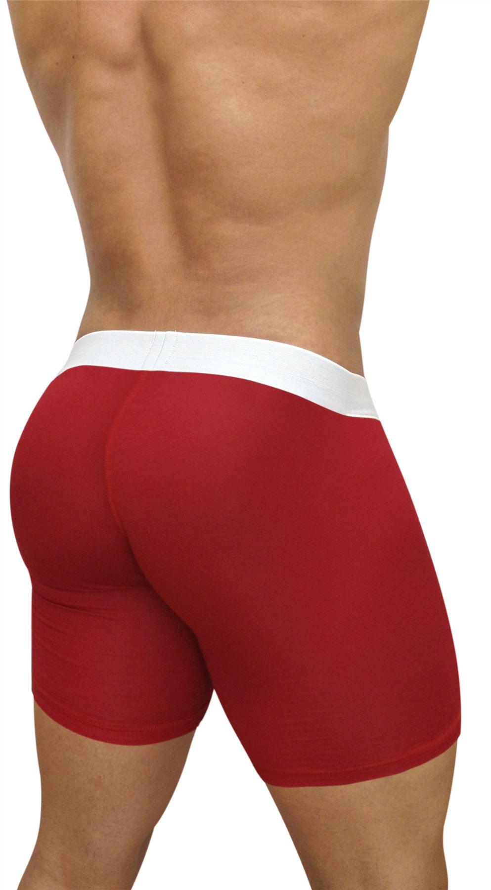 Ergowear MAX Modal Midcut MEN/'S Underwear Boxer migliorare Maschio Lungo Corto Viscosa
