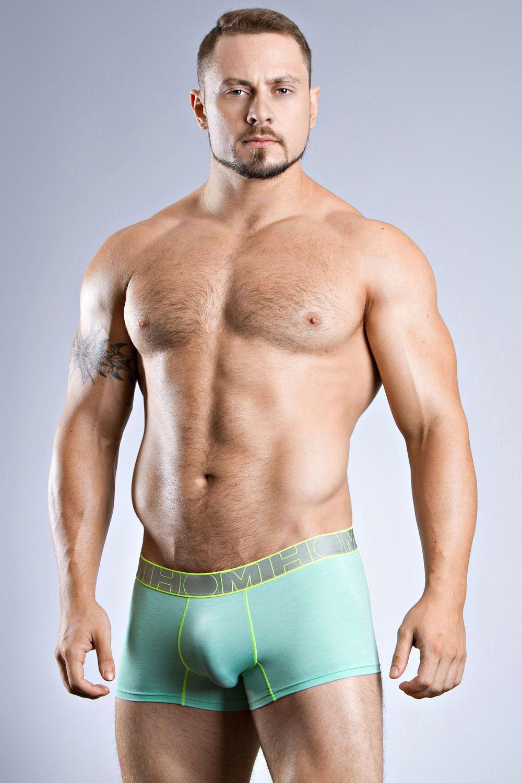 6ab168deef65 HOM Underwear Men's Sport Waves Short Trunk, Boxer Brief Pastel ...