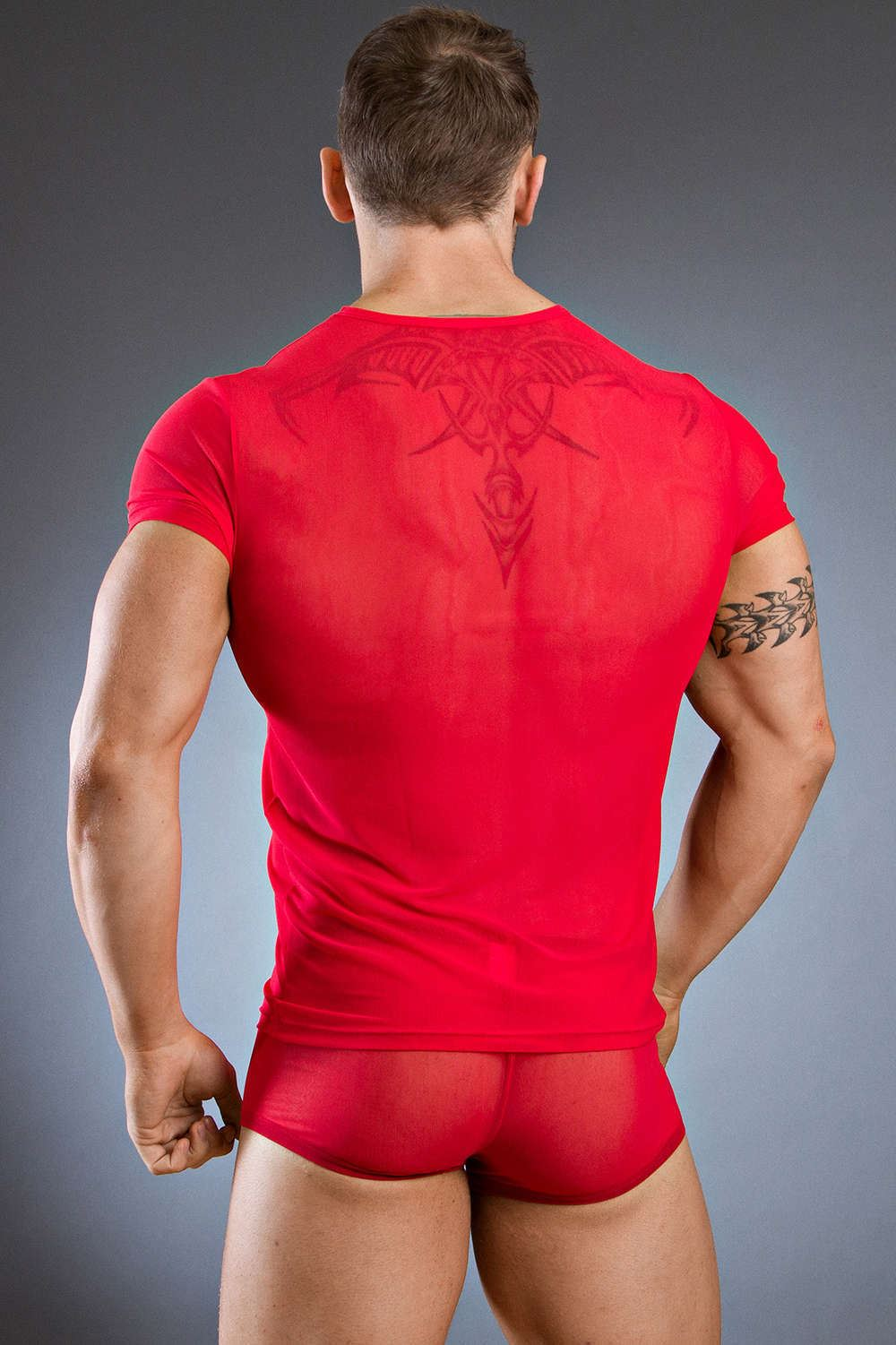 Mens body art eros v shirt underwear designer fashion top Uk mens designer clothing